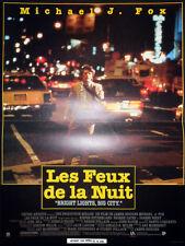 Affiche 40x60cm LES FEUX DE LA NUIT /BRIGHT LIGHTS…1988 Michael J. Fox NEUVE
