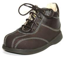 Chaussures marrons en cuir pour garçon de 2 à 16 ans pointure 25