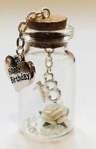 Happy 18th Birthday Little Treasure ~ Miniature Gift Keepsake 18th Gift