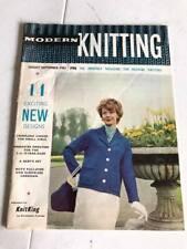 Modern Knitting Magazine by Knitmaster - August September 1961