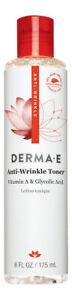 Derma E Anti-Wrinkle Toner 6 oz 175 ml. Facial Toner