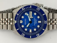 SHARK SAVE THE OCEAN MOD SEIKO 7S26-0020 SKX007 AUTOMATIC MENS WATCH 452754