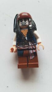 Lego Pirates of the Caribbean Jack Sparrow Skeleton (poc012) aus Set 4181 #2967
