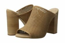 Women's Aldo Thiasa Brown Block Heel Mules Size UK 5/EU 38 RRP: £65.00