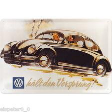 Blechschild 20 x 30, VW Vorsprung, Werbeschild Art. 20220