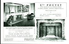 """Publicité Ancienne """" Ets POUYET Spécialiste de la  Tuile   1957 """" ( P. 26 )"""