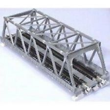 "Kato N Scale Double Truss Bridge 9.75"" Silver 20-437"