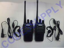 2 Way Radio Walkie Talkie Headset Package for Host Staff Retail Bar Restaurant