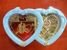 HEART SHAPED JEWELLERY & TRINKETS CONTAINER - I LOVE YOU BOX