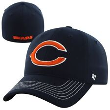 Chicago Bears 47 Brand Game Time Closer Hat Stretch Fit Flex Cap