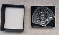 Bohemia Czechoslovakia Crystal Fine Cut Lead Crystal Dish fan shape