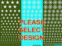 1/72 1/100 1/144 1/285 Mehusla Decals FoW US Stars Star & Circle Stencil # YK-88