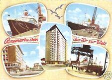 AK, Bremerhaven, fünf Abb., gestaltet, 1966