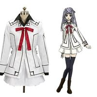 Vampire Knight Yuki Kuran Kurosu Cosplay Costume White Dress Outfit Suit Uniform