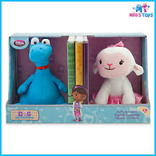Disney Doc McSutffins' Stuffy and Lambie Figural Bookends brand new in box