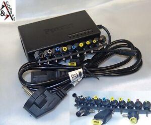 Universal Laptop Netzteil 12V - 19V 19,5V 20V 24V 2A - 5A 90W / 96W 13 Stecker