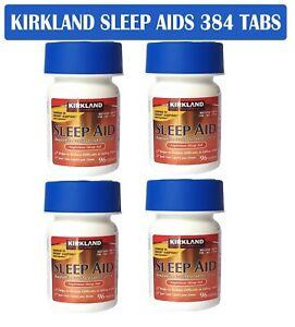 VALUE PACK Kirkland Night Aid 25mg Insomnia Sleep Supplement 384 tabs