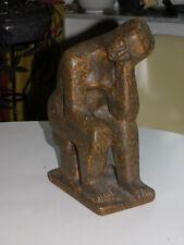 """Grosse abstrakte Skulptur  """" Sinnende """"  Monogramm HP"""