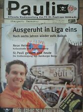 Programm 2000/01 FC St. Pauli - Hannover 96