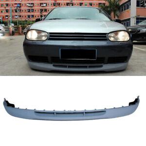 Fit For Volkswagen Golf 4 MK4 1998-2004 Front Bumper Lip Spoiler Chin Unpainted