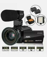 Video Camera 4K Camcorder AiTechny HD Digital WiFi Vlogging Camera 48MP 16X Digi
