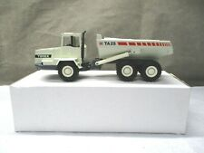 "Conrad Terex TA25 ""Red Stripe"" Articulated White Dump Truck 1/50 Item:2762 CJ107"