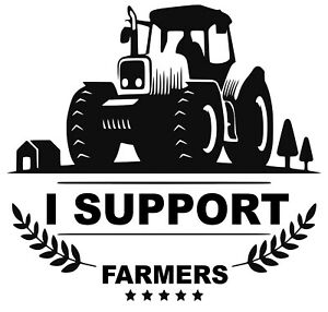 No farmer no food decal-stickers for Cars/Vans/Windows/Glass/walls