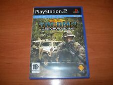 SOCOM 3 U.S. NAVY SEALS PS2 (PAL ESPAÑA PRECINTADO)