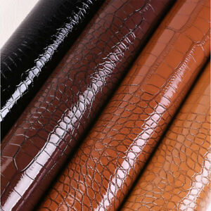 Faux Crocodile Leather Self Adhesive Patch Leather for Sofa Car Chair DIY
