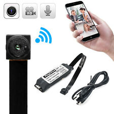 Mini HD Wireless WIFI IP Spy Camera Hidden DIY Module DV DVR Nanny Micro Cam FHD