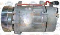 8FK 351 127-331 HELLA Kompressor Klimaanlage
