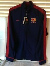 New NIKE PROTOTYPE FCB FC BARCELONA LONG SLEEVE JACKET Size Medium Football Tags