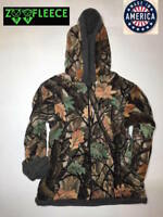 ZooFleece Mossy Tree Camouflage Kids Boys Jacket Hoodie Coat Camo Baby Sweater