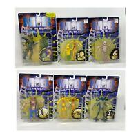 Lot of 7 Galoob Men In Black MIB Alien Figures 1997 Elby Edgar Mikey Mavis Bobo