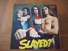 """SLADE SLAYED? Original VINYL 12""""LP 1972 POLYDOR PD 5524 CLASSIC ROCK RECORD"""