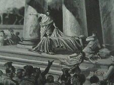 Shakespheare's, Antony and the Dead Caesar, Engraving from Antique Art Journal.
