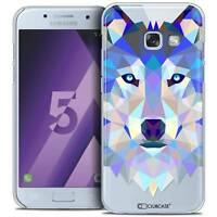 Coque Housse Etui Pour Samsung Galaxy A5 2017 (A520) Polygon Animal Rigide Fin L