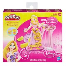 Play-doh Design-a-dress Fashion Kit Disney Princess Tangled Rapunzel A5428