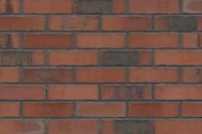 Strangpress Klinker-Riemchen NF-Format rot bunt genarbt Riemchen Verblender