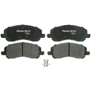 Frt Semi Met Brake Pads  Perfect Stop  PS866M