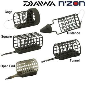 DAIWA N'ZON CAGE FEEDERS - NEW NZON - COARSE FISHING CAGE - CHOOSE CAGE & WEIGHT