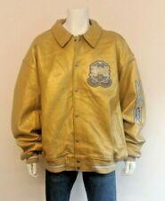 AVIREX 2001 USA VARSITY CLASSICS 100% Quality Leather Jacket Good Big Size 6XL