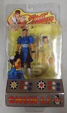 Chun Li SOTA Street Fighter Figure Blue Version 2004 15th Anniversary