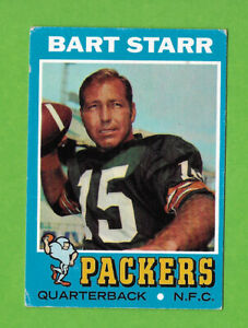 1971 Topps #200 Bart Starr HOF Green Bay Packers CHECK IT OUT!