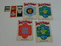 1968 Laugh-in Cards 4 x Necklace 1 x Folders 6 x Trading Card Lot of 11