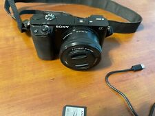 Sony A6000 24.3 MP Mirrorless Digital SLR Camera - Black