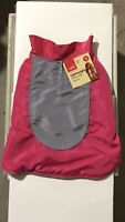 my pets essentials lightweight dog coat Small Colour Pink And grey