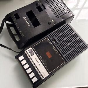 Sanyo M2522G Portable Cassette Tape Player Recorder Vintage VGC RARE