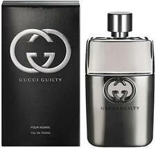 90m Gucci GUILTY EDT Eau de toilette Spray for Men Homme BNIB Sealed 3 oz