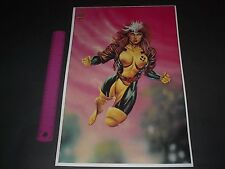 MARVEL COMICS ROGUE POSTER PIN UP X-MEN JUSCO